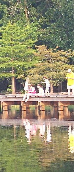 State park hosts kids fishing derby lake darbonne life for Lake d arbonne fishing report