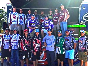 Southern Division college bass winners