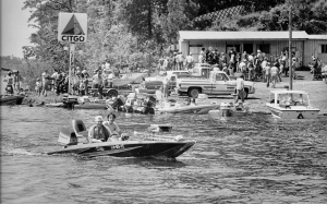 This is a scene from one of the first High School Bass tournaments on D'Arbonne in the late 1970's