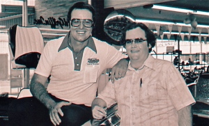 This photo was taken at Howard Griffin's marine in Monroe back in the 1970's.