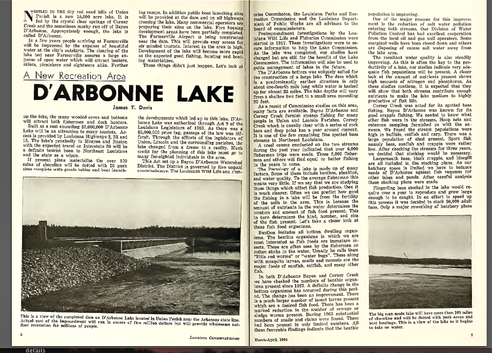 It s the benthos lake darbonne life for Lake d arbonne fishing report