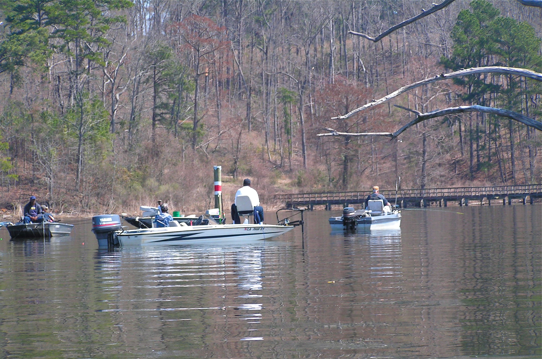 Lake darbonne life people pursue outdoor activities for Lake d arbonne fishing report