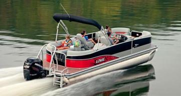 lowe pontoon