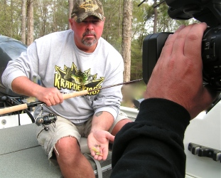 Wind rain and krappie kings for Lake d arbonne fishing report