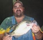 Big John with Saturday's big fish