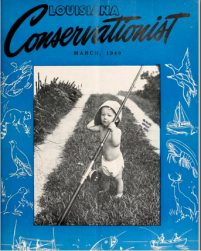 This is an early edition of the Louisiana Conservationist