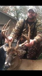 Lee Taylor and his big Union buck
