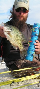 "Jay Stone and a ""kitchen sink"" D'Arbonne crappie!"