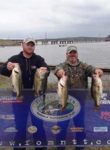 Albritton & Dalrymple with their winning catch