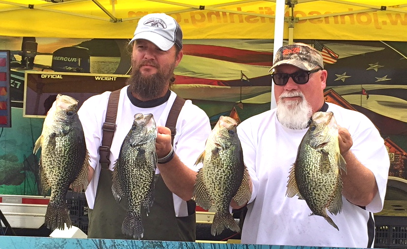 Stone godwin win crappie masters lake darbonne life for Lake d arbonne fishing report