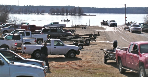When the fish are biting, there is no busier place in Union Parish than the boat ramps on Lake D'Arbonne