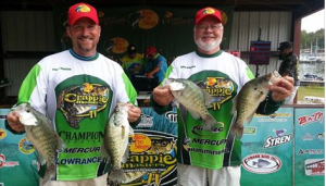 Team Morgan with four nice Kentucky Lake slabs