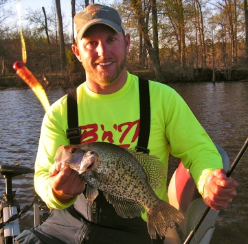 Crappie fishing guides in louisiana for Fishing license in louisiana